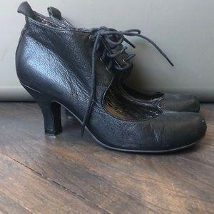 Jeffery Campbell heeled lace up Mary Jane